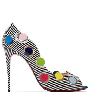 Christian Louboutin's Lady Bug pumps